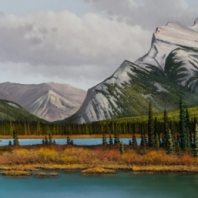 Wide View Of Rundle