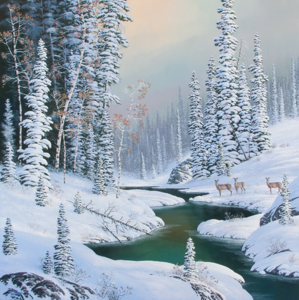 """""""JANUARY DREAMS"""": COMPLETED WORK"""